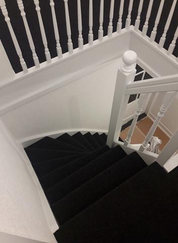 Tapijt op trap
